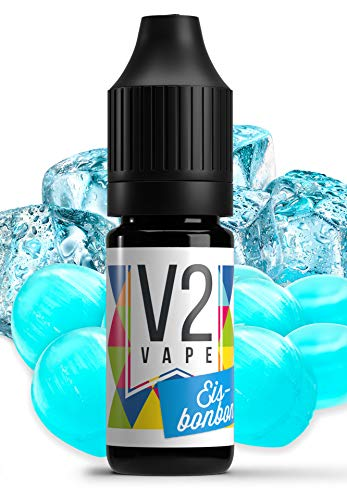 V2 Vape Eisbonbon AROMA / KONZENTRAT hochdosiertes Premium Lebensmittel-Aroma zum selber mischen von E-Liquid / Liquid…