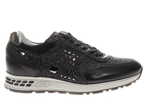 A719470D-101.Sneaker glitter.Nero.40
