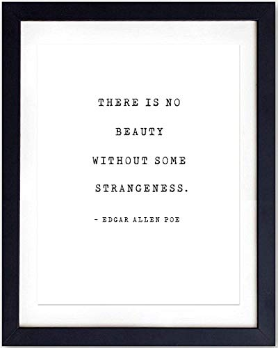 8x10 Photo Art (Edgar Allen Poe Quote Wall Art Print Typography - 8x10 Unframed Photo - Makes a Great Gift - Chic Home Decor)