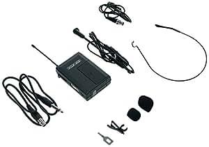 König KN-MICW430 Bodypack inalámbrico de 16 canales y auriculares con Clip