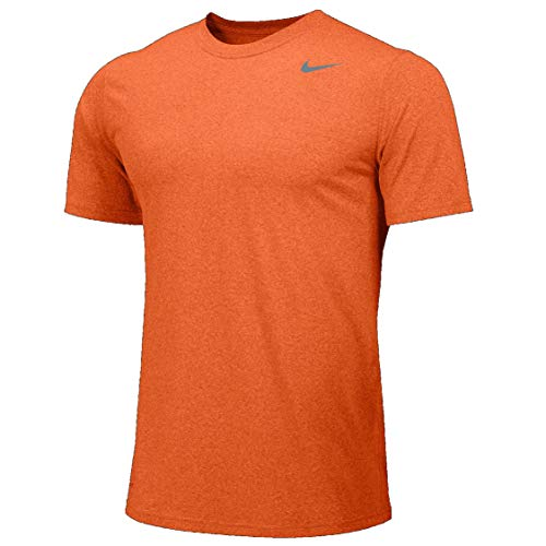 Nike Legend Short Sleeve Tee (Bright Ceramic/Cool Grey, Medium) ()
