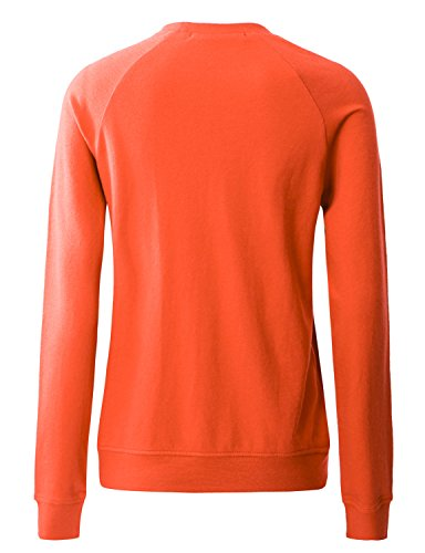 Regna X NO Bother Women's Crewneck Long Sleeve Pullover Sweatshirt (Basic & Kangaroo Pocket Style, S 3X)