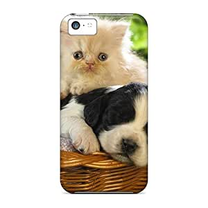 Ehf58837mGMg Cases Covers Cute Cat A Puppy Iphone 5c Protective Cases
