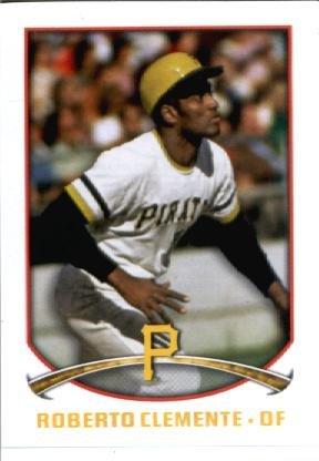 2015 Topps MLB Baseball Sticker #246 Roberto Clemente Mint ()