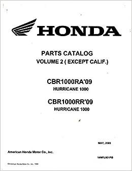 Remarkable 14Mfl801Pb 2009 2010 Honda Cbr1000Ra Rr Hurricane 1000 Volume 2 Wiring Digital Resources Instshebarightsorg