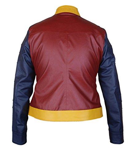 F&H Women's Wonder Woman Gal Gadot Jacket Multicoloured