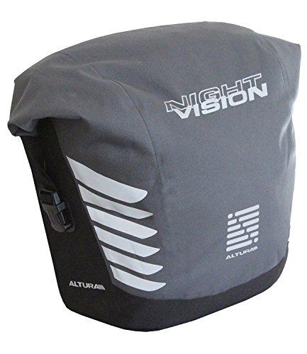 Altura Night Vision 20 Cycling Pannier (Single) 20 Liter Grey