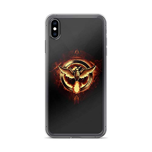 iPhone Xs Max Pure Clear Case Cases Cover Hunger Moltress Phoenix Badge