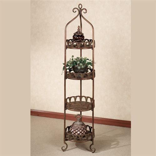 (Touch of Class Sonora Etagere Copper 4 Tier)