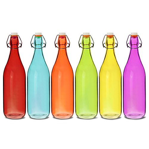 Litre Glass Bottles With Swing Top