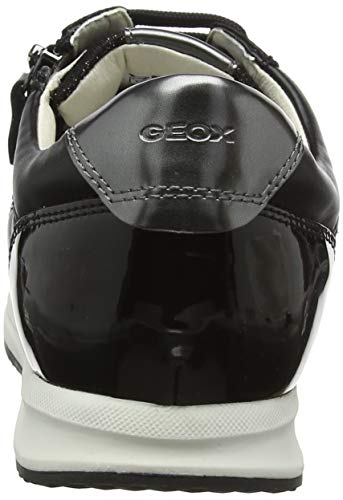 C9999 Mujer Zapatillas Geox Black Para Avery D A w7TqUvp