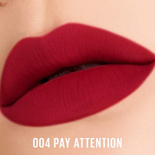 PONY EFFECT Powdery Whisper Lipstick Matte | Vivid Matte lipstick for Women | 004 Pay Attention | K beauty
