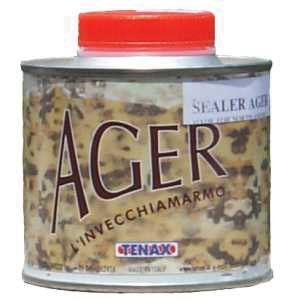 Tenax Ager Color Enhancing Granite Sealer, Marble Sealer, & Stone Sealer - 1/4 Liter (Stone Over Marble Fireplace)
