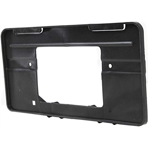 Diften 102-A5414-X01 - New License Plate Bracket Front Black Jeep Cherokee 2001 CH1068112 52003479 by Diften