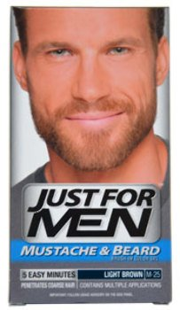 Men Just For Men Brush-In Color Gel Light Brown # M-25 Mustache-Beard & Sideburns Color *** Product Description: Just For Men Brush-In Color Gel Light Brown #M-25 Mustache-Beard & Sideburns Colorthe World'S Leader In Men'S Haircolor. Contains Mul ***