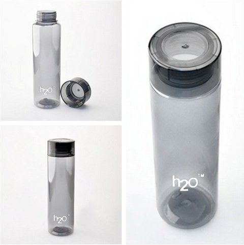 H2o International Quality 1000 ml UNBREAKABLE Bottle