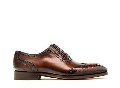 Magnanni Barcellona Marrone Mens Scarpe Stringate Marroni