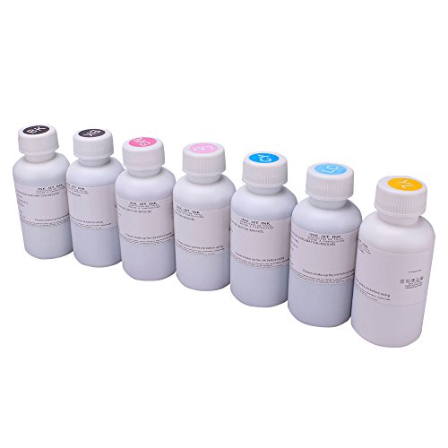 JetSir 6 Color Sublimation Ink Heat Press Ink Heat Transfer Ink for3d amchine Heat Press machine, T-shirt Press Machine, Mugs Press Machine, Phone case Press Machine, Plate Press Machine
