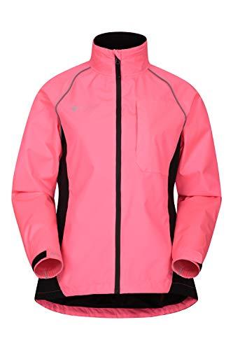 Mountain Warehouse Adrenaline Womens Waterproof Jacket – Breathable Ladies Coat, Taped Seams, Reflective Trims Rain…