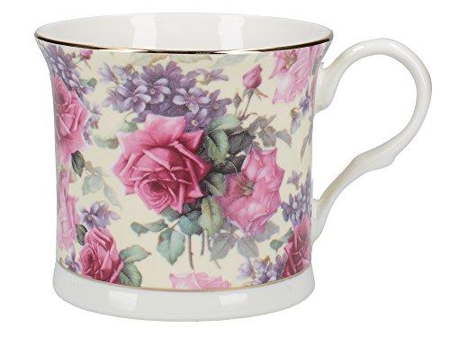 Queen Elizabeth Fine Bone China Mug By Creative Tops, 300ml (10 Fl Oz) 10 Ounce Footed Mug