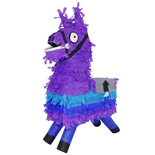 LYTIO Loot Llama Pinata Perfect for Gaming Themed Parties, Photo Prop, Piñata Game and Décor