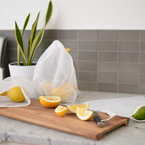 Reusable Produce Bags – Eco Green bags for Fruits and Veggies by flip & tumble (Image #4)