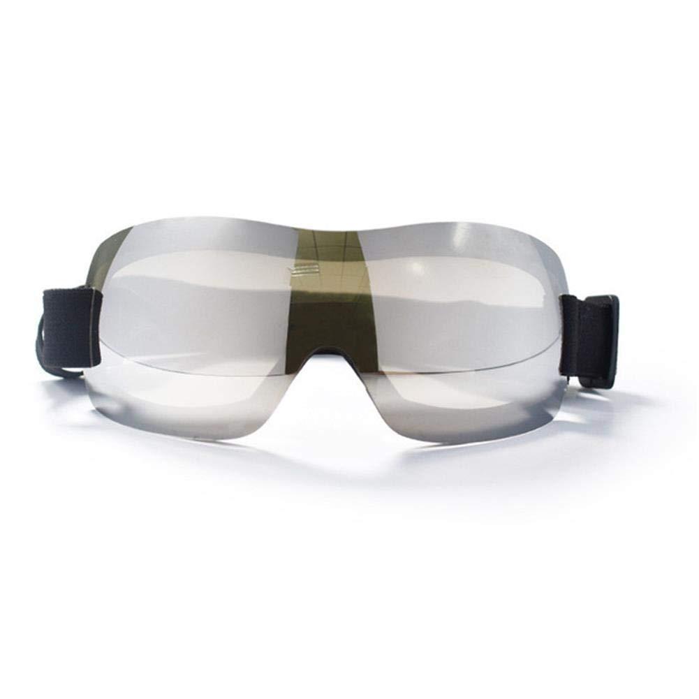 V.JUST Dog UV Protection Sunglasses Big Medium Pet Eye Wear Weight Light Professional Glasses Sun-Resistant Dog Glasses Accessaries,D