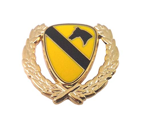 1ST Cavalry with Wreath Military Veteran US Army Hat Pin P15840 EE