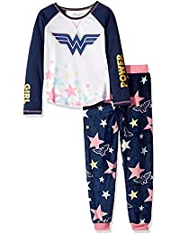 Wonder Woman Girls Big Girls Girl Power Pajama Set