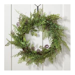 Melrose International Fern Wreath, 22-Inch 16