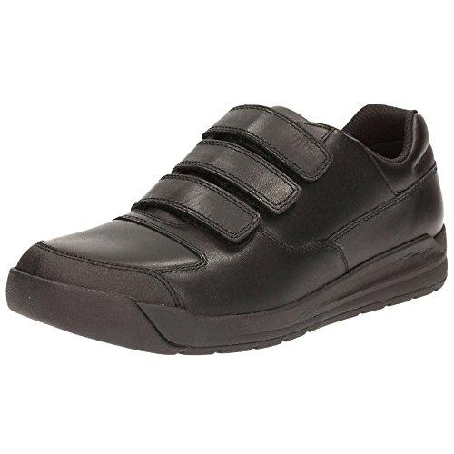 Clarks Monte Lite Bl, Zapatillas para Niños Black