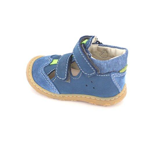 Ricosta Unisex Baby Ebi Lauflernschuhe Blau
