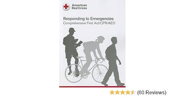 Responding To Emergency American Red Cross 9781584805540 Medicine