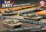 Flames of War Team Yankee M1 Abrams Tank Platoon (Plastic) ~ FEB 26