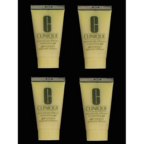 Lot of 4 x 1 oz Clinique Dramatically Different Moisturizing Gel Step 3 for Oily Skin Total 4 oz / 120 ml - Gel Dramatically Different Moisturizing