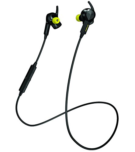 Jabra SPORTPULSE Wireless Sports Earbuds with In-ear Heart Rate Monitor and Integrated Running App (US Version)
