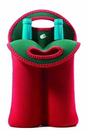 Neoprene 2 Bottle Wine Tote Patrol