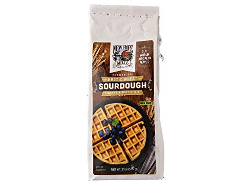 Rustic Sourdough Pancake & Waffle Mix 21oz Bag by New Hope Mills
