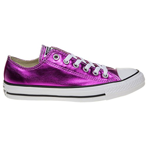 Converse Womens Chuck Taylor All Star Ox Magenta Glow Canvas Trainers 6 (Chuck Taylor Trainer)