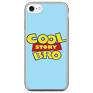 Loud Universe Cool Story Bro iPhone 7 Case Toy Story iPhone 7 Cover with Transparent Edges