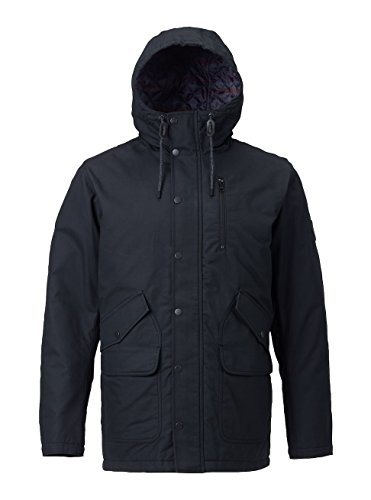 Burton Men's Sherman Jacket, True Black, Large (Apparel Burton Insulated Jackets)