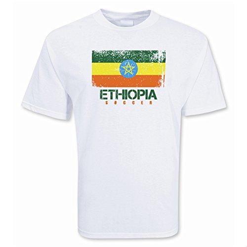 Ethiopia Soccer T-shirt B0787YB5P9Small (34-36\