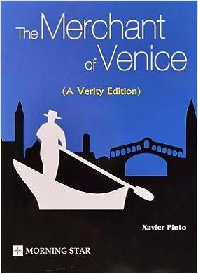 merchant of venice act 2 ans by xavier pinto