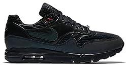 Nike Women's W Air Max 1 Ultra SW QS, BLACK/BLACK- METALLIC SILVER, 5 M US