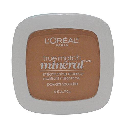 3 Pack- L'Oreal True Match Mineral Instant Shine Eraser Powder #W6-7/413 Sun Beige
