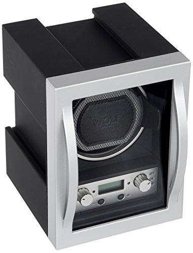 (WOLF 454011 Module 4.1 Watch Winder with Cover, Black)