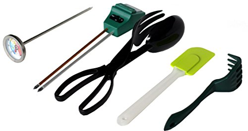 Worm Farm Accessory Kit for Red Wiggler Composting Bins (Moisture Meter, Thermometer, pH Meter + More) - Accessories Are An Essential Part of Any Worm Farm Starter Kit - Perfect For Kids & Adults ()