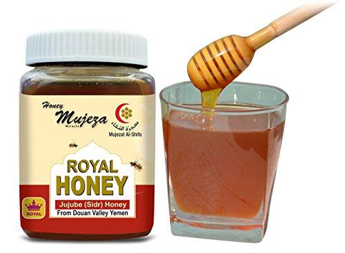 Royal Honey ( Authentic Yemen Douani Sidr Honey) Raw Honey (500g / 17.6)