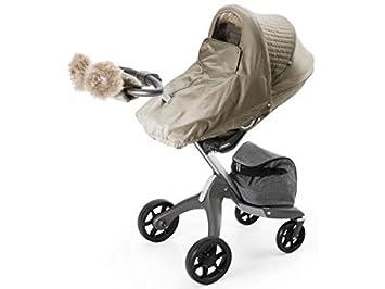 Stokke - Kit de invierno para coche de paseo y capazo bronze brown marrón: Amazon.es: Bebé