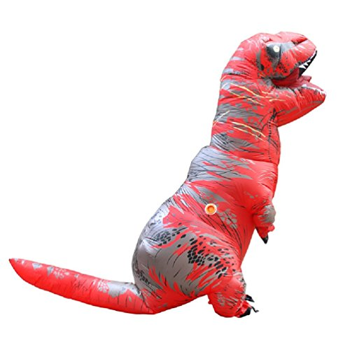 Inflatable T Rex Costumes Dinosaur Fancy Dress For Adult Kid Men Women Dragon Blowup Halloween Jurassic World Cosplay Outfit
